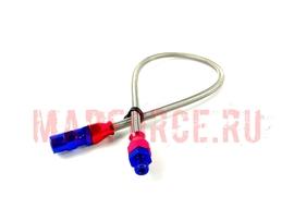 Шланг-удлинитель для установки датчика давления масла, фитинги алюминий