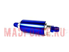 Топливный фильтр AN проточный под фитинг