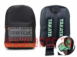 Рюкзак BRIDE ремни TAKATA (черные)