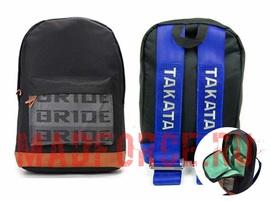 Рюкзак BRIDE ремни TAKATA (синие)