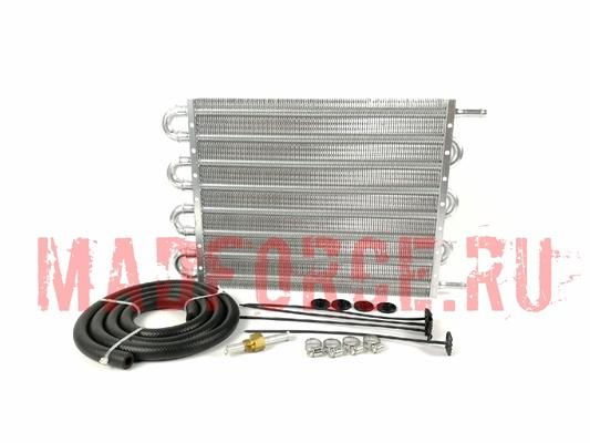 Радиатор трансмиссионный серебро большой 305*255*20