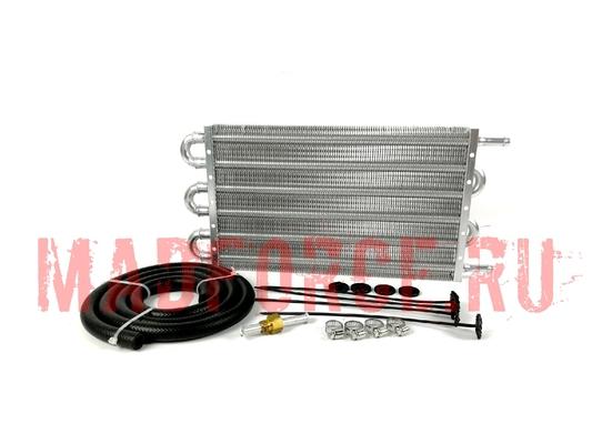 Радиатор трансмиссионный серебро малый 305*190*20