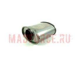 Пламегаситель овальный Greddy Style 160 мм