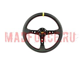 Руль OMP PVC (черный)