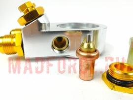 Проставка под маслокулер с термостатом Mocal Style (45 градусов)