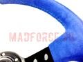 Руль OMP Замша (синий)