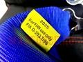 Ремни безопасности OMP синие  4х точ. быстосъемные