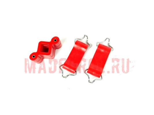 Комплект крепления выхлопной системы CS-20 для а/м ВАЗ 2101/06/07/073 ПУ Drive (красный) (3шт) 7985