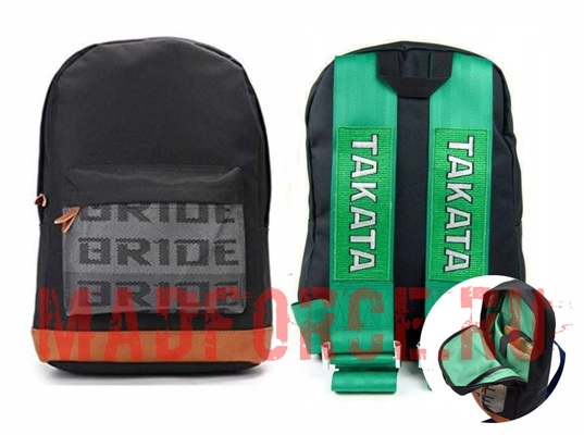Рюкзак BRIDE ремни TAKATA (зеленый)